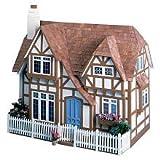Greenleaf The Glencroft Wooden Unpainted Dollhouse Kit