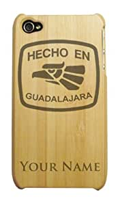 Bamboo iPhone 4/4S Case/Cover - HECHO EN GUADALAJARA - Personalized for FREE (Click the CONTACT SELLER link after purchase to tell us your engraving request)