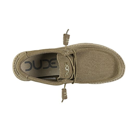 Dude Collo Shoes Basso Uomo Brown 1w4zCwqY