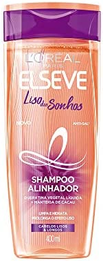 Shampoo Elseve Liso Dos Sonhos, 400Ml, L'Oréal P