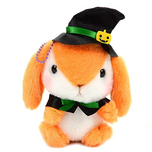 Amuse Halloween Bunny Plush Doll Witch Stuffed Animal Japan White -