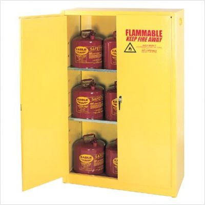 EAGLE Compact Flammable Liquids Safety Cabinet - 17-1/2x18x22-1/4