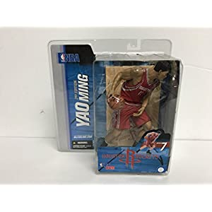 Yao Ming Houston Rockets NBA Basketball McFarlane Action Figure