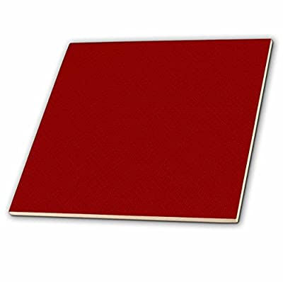 3dRose ct_180515_1 Dark Red and Light Red Square Patterns Ceramic Tile, 4""