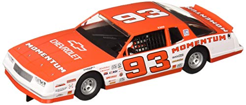 (Scalextric Chevrolet Monte Carlo 1986#93 1:32 Slot Race Car C3949, Red & White)