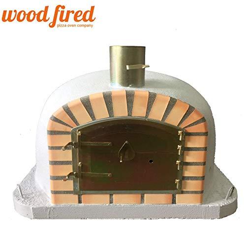 Woodfired Horno de Pizza de leña Extra, Arco Naranja, Puerta ...