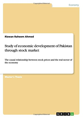 Study of economic development of Pakistan through stock market pdf epub