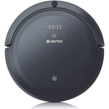 EVENTER Robot Vacuum Cleaner Mopping Robot with Strong Suction 1800PA, Auto-Charging, Virtual Wall, Remote Control, HEPA Filter System, ...