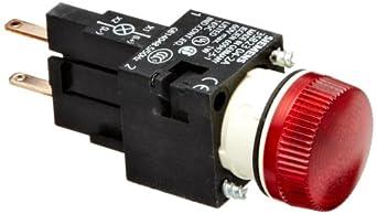 Siemens 3SB22 04-6BC06 Indicator Light Unit, Lampholder, Red