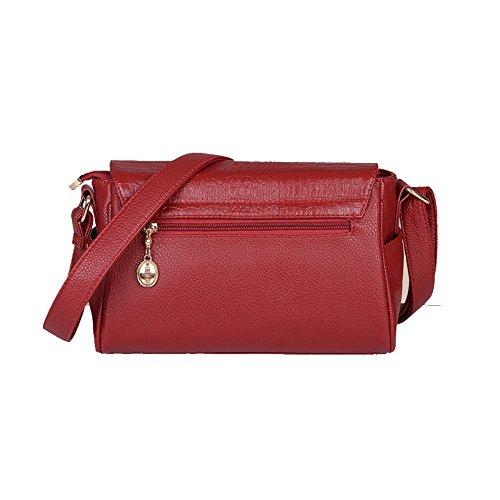 A Women's Fashion Fashion Bag Bags Women's Crossbody Shoulder Leather Leather Crossbody vxIwTT