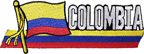 Colombia Country Flag - Colombia - Country Flag Patch