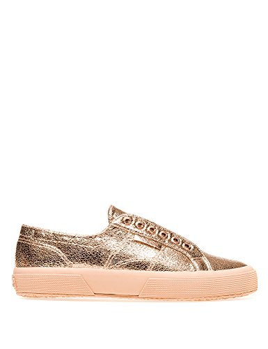 Size syncrackleatherw 40 Sneakers Women's Pink In 2750 Superga nzxY6T7qwx