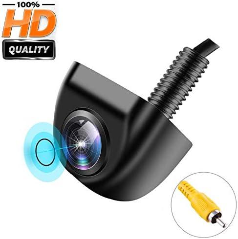 Backup Camera for Car, IP 69K Waterproof Rear View Camera 170 Super Wide Angle Vehicle Reverse Camera HD Night Vision Universal Car Camera for Truck SUV RV Van