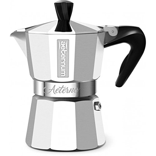 Bialetti 5091 Aeterna Espresso Maker, Silver