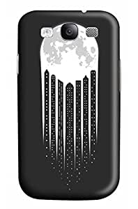 CaseandHome Moon City PC Material Hard Case For Samsung Galaxy S 4
