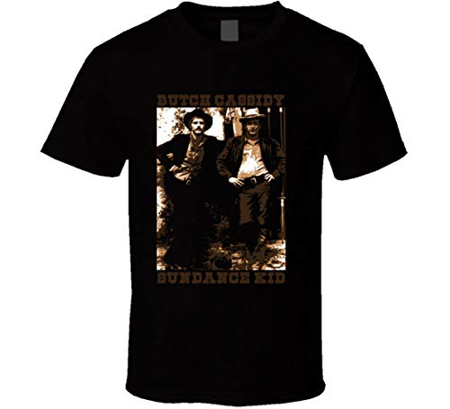 Butch Cassidy & The Sundance Kid Western Movie Classic t-Shirt Black