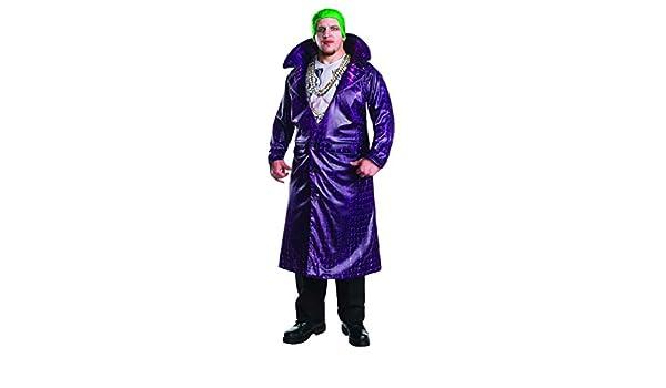 Joker traje de lujo del tamaño extra grande: Amazon.es: Juguetes y juegos