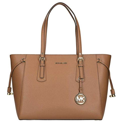 MICHAEL Michael Kors Women's Voyager Tote, Acorn, One Size