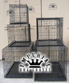 30 Medium Imperial Folding Dog Crate D802