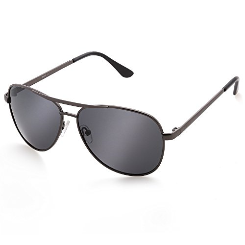 LotFancy Aviator Polarized Sunglasses Protection