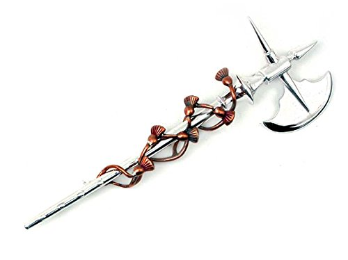 Solid Sterling Silver and Bronze Bruce's Axe and Entwined...
