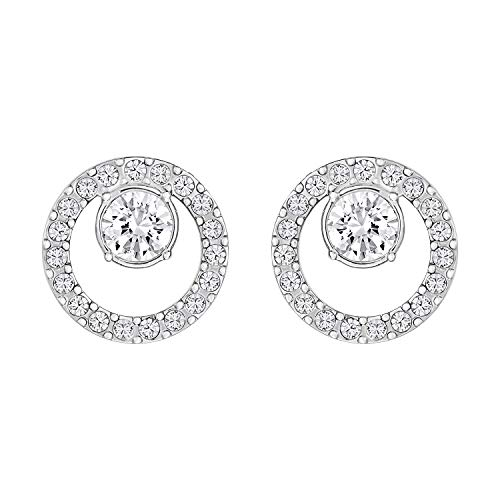 (KIPONE Earrings Women Sterling Silver S925 For Girls Gold Stud Hoops Cheap Helix Diamonds EDXZ027)