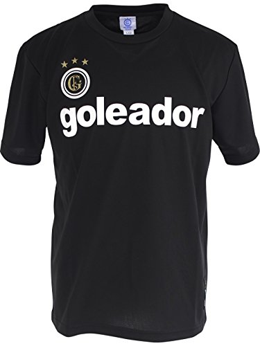 落胆させるあいにく折るgoleador(ゴレアドール) ジュニア プラTシャツ G-440-1 130サイズ ブラック