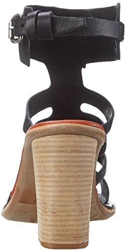 A.S.98 Ferro - Tira de tobillo Mujer Schwarz (NERO/NERO/NERO/Malaga/Tdm)