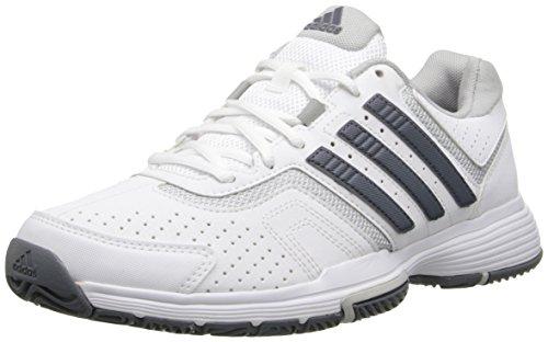 Adidas Performance Dames Barricadebaan Met Tennisschoen Wit / Grijs / Transparant Grijs
