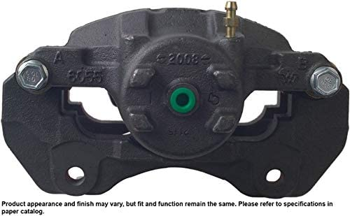 Unloaded Brake Caliper Cardone 19-B2615A Remanufactured Import Friction Ready
