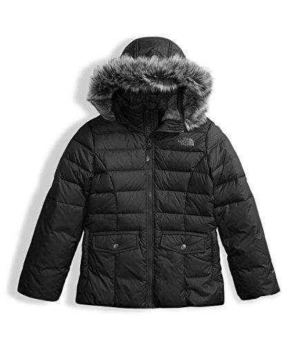 Coat North Face Winter (The North Face Girl's Gotham 2.0 Down Jacket - TNF Black - XL)