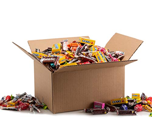 Assorted Bulk Candy, Individually Wrapped: 12 LB Box Variety Pack with Tootsie Rolls, Tootsie Pops, Jolly Ranchers, Nerds, Assorted Laffy Taffy's & More! Great for Holiday and Party Treats