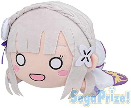 Re:Zero Starting Life in Another World Mega Jumbo Nesoberi Plush Emilia Stuffed