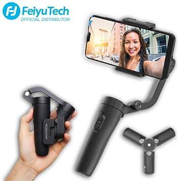 Feiyutech Smartphone Vlog Gimbal Stabilizer para iPhone, Huawei ...