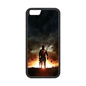 iPhone 6 Plus 5.5 Inch Cell Phone Case Black battlefield 4 lonely game art BNY_6867064