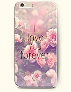 iPhone Case,OOFIT iPhone 6 (4.7) Hard Case **NEW** Case with the Design of I love you forever - Case for Apple iPhone iPhone 6 (4.7) (2014) Verizon, AT&T Sprint, T-mobile