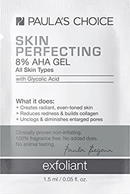 Paula's Choice SKIN PERFECTING 8% AHA Gel Exfoliant with Glycolic Acid, Chamomile, and Green Tea