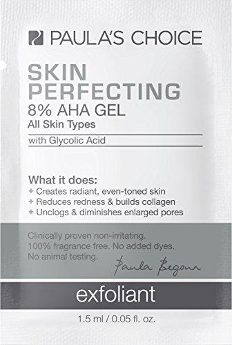 Paulas Choice SKIN PERFECTING 8% AHA Gel Exfoliant with Glycolic Acid, Chamomile, and Green Tea