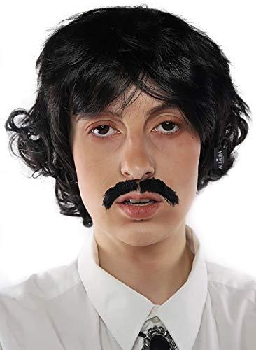 ALLAURA Pedro Costume Wig Black Wigs &