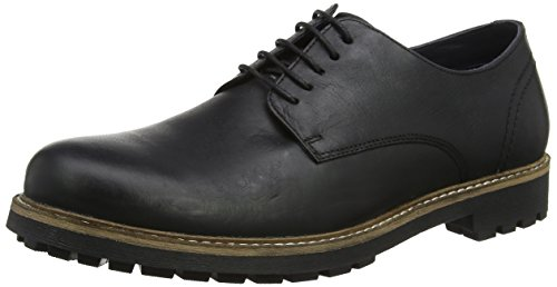 Zapatos Risley Hombre Red Tape Negro qH1nZn