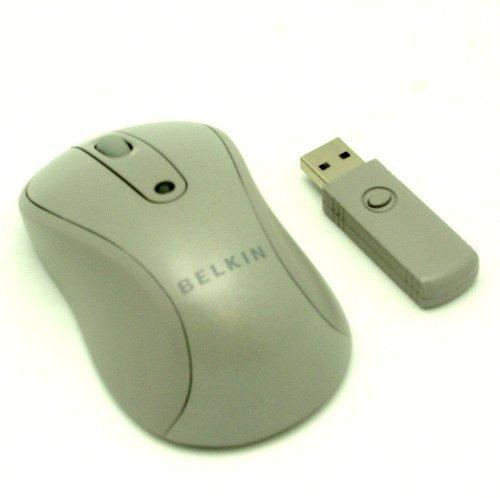 Belkin F5L075-USB-ASH 2.4GHz Wireless Optical Mouse Silver