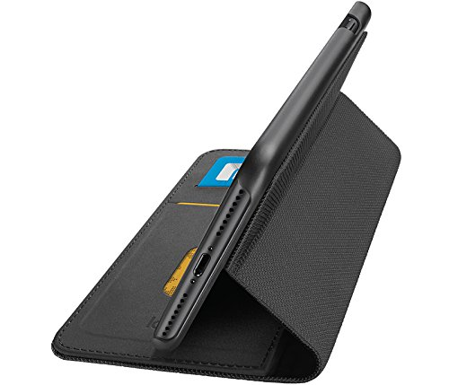 Logitech Hinge iPhone 7 Plus Wallet Case with Any-Angle Stand - Black