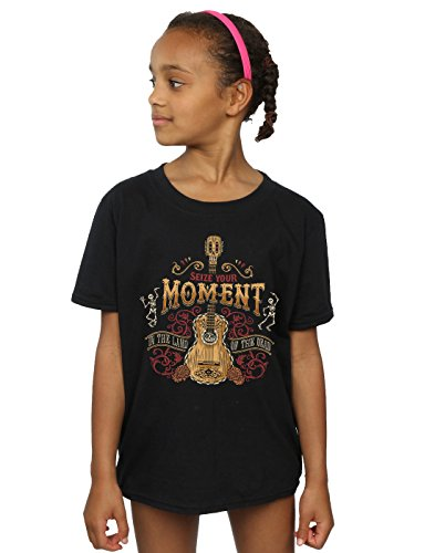 Disney Girls Coco Land of The Dead T-Shirt 12-13 Years Black