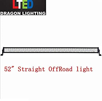 Galaxy led 300w 52spot flood combo beam led light bar for atv utv galaxy led 300w 52quotspot flood combo beam led light bar for atv utv tractor aloadofball Choice Image
