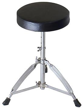 Sticks /& Throne Hardware Metallic Blue Gammon 5-Piece Junior Starter Drum Kit with Cymbals