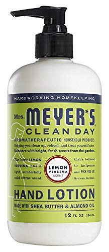 (Mrs. Meyer's Clean Day Hand Lotion, 12 oz (Lemon Verbena, Pack - 3))