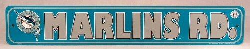 Rico Florida Marlins Rd. Street Sign MLB Licensed