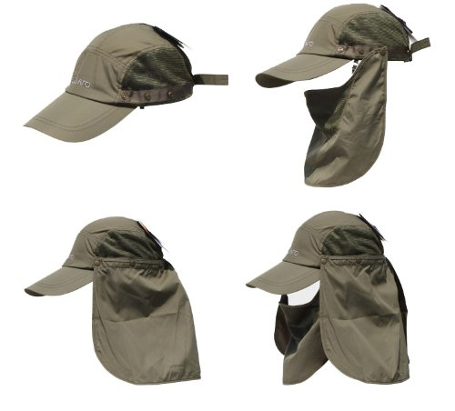 Outdoor Men Hats Sun Caps Sports Hat UV protection Waterproof Breathable Hat(green)
