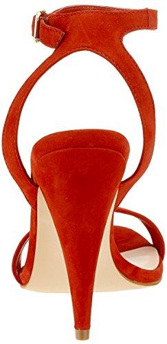 EU Punta 62 ALDO con Rojo 38 Red Abierta Sandalias Mars Mujer para Hirelle HHxw7B