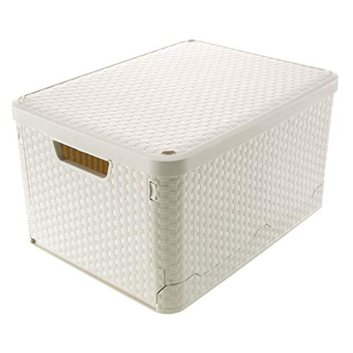 ❤️❤️Jonerytime❤️❤️Car Folding Storage Box Folding Bin for Household Clothes Storage Box (12.99×17.32×9.84inch.) from Jonerytime_ Home & Garden